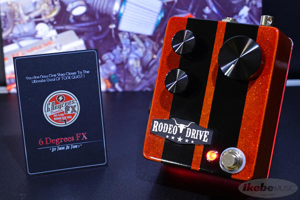 6 Degrees FX Rodeo Drive Custom Shop Furious w/Red Underglow