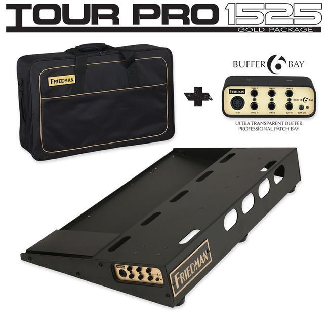 "FRIEDMAN 《フリードマン》 TOUR PRO 1525 ""GOLD PACK"" [Pedal Board(M) & Carry Bag & Buffer Bay 6]【ご予約受付中】"