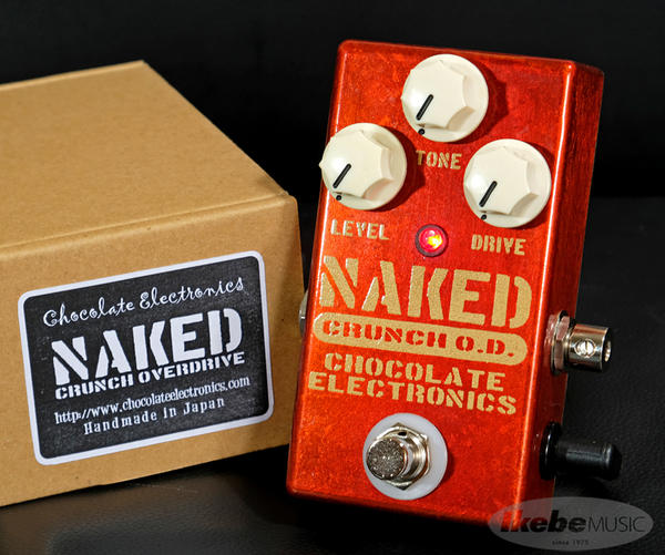 Chocolate Electronics 《チョコレート・エレクトロニクス》 Naked Crunch Overdrive