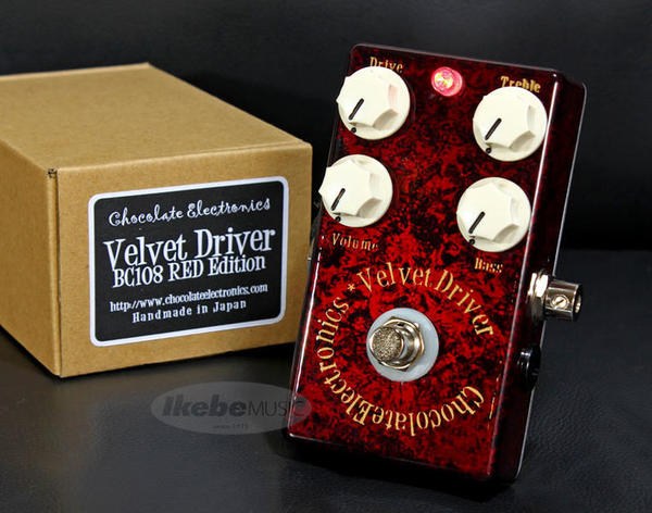 Chocolate Electronics 《チョコレート・エレクトロニクス》 Velvet Driver BC108 RED Edition [Guitars Station Custom Order Model]