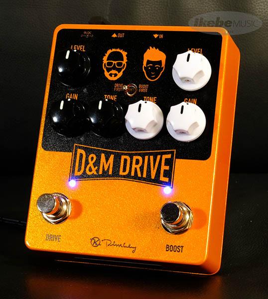 Keeley Electronics 《キーリー》 D&M Drive 【今がチャンス!円高還元セール!】【Tシャツプレゼント!】