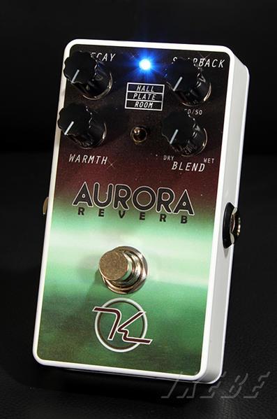 Keeley Electronics 《キーリー》 Aurora Reverb【今がチャンス!円高還元セール!】【Tシャツプレゼント!】