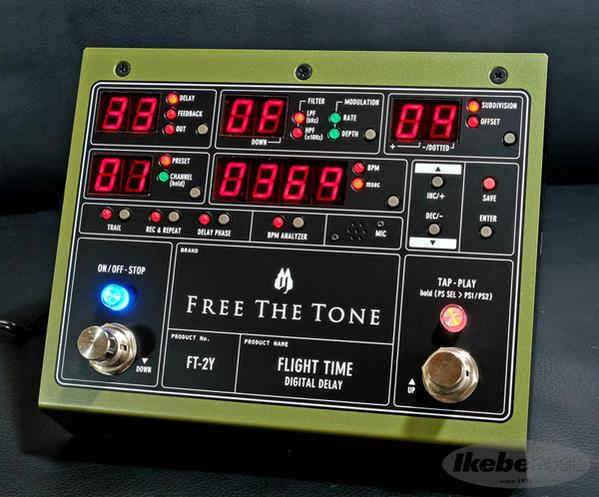 【使い勝手の良い】 Free Free The ToneFLIGHT TIME FT-2Y TIME [Digital FT-2Y Delay]【即納可能!】, シコタングン:da0da5c4 --- canoncity.azurewebsites.net