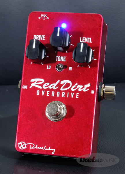 Keeley Electronics 《キーリー》 Red Dirt Overdrive【今がチャンス!円高還元セール!】【Tシャツプレゼント!】