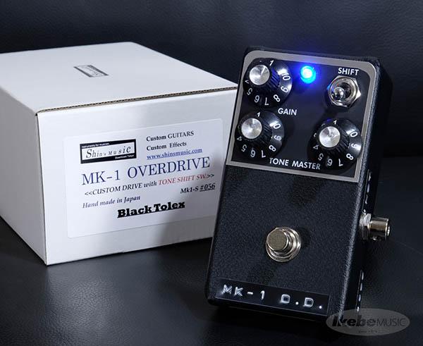 shin's music MK-1 OVERDRIVE #056 Black Tolex 【Guitars Station Order Model】