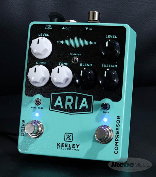 Keeley Electronics 《キーリー》 Aria Compressor Drive 【今がチャンス!円高還元セール!】【Tシャツプレゼント!】
