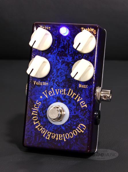 "Chocolate Electronics 《チョコレート・エレクトロニクス》 Velvet Driver SN.#131 ""Indigo Dawn"" Proto Case"
