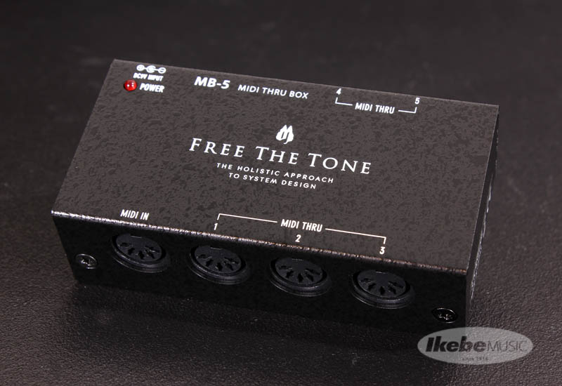 Free The Tone MB-5 [MIDI THRU BOX] 【即納可能】