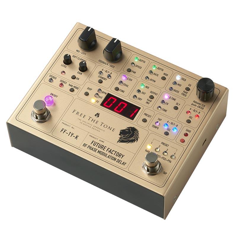 Free The Tone FUTURE FACTORY FF-1Y-K Ken(L'Arc~en~Ciel) Signature Model【即納可能!】
