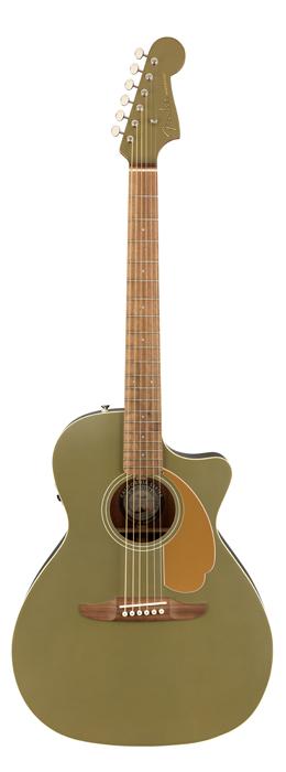Fender Acoustics 《フェンダー・アコースティック》 Newporter Player (Olive Satin)