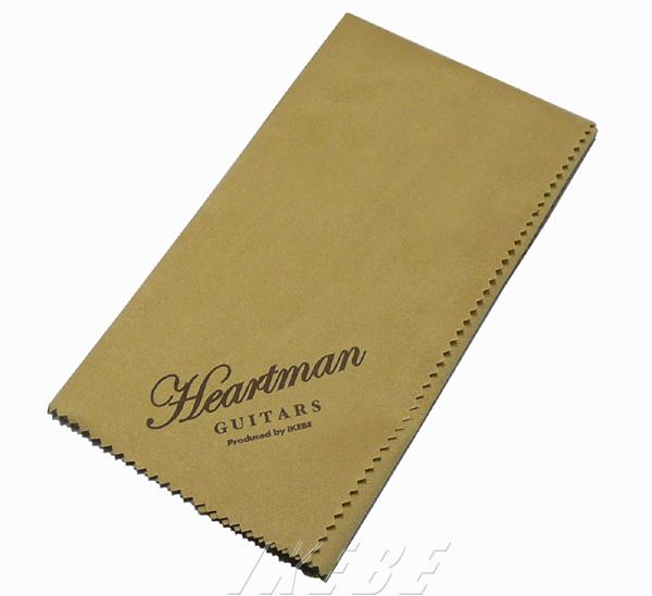 いよいよ人気ブランド Heartman Guitarsのロゴ入りプレミアムクロス Ikebe Original 《イケベオリジナル》 優先配送 Mサイズ ハートマンギターズ Guitars ロゴ入りクロス