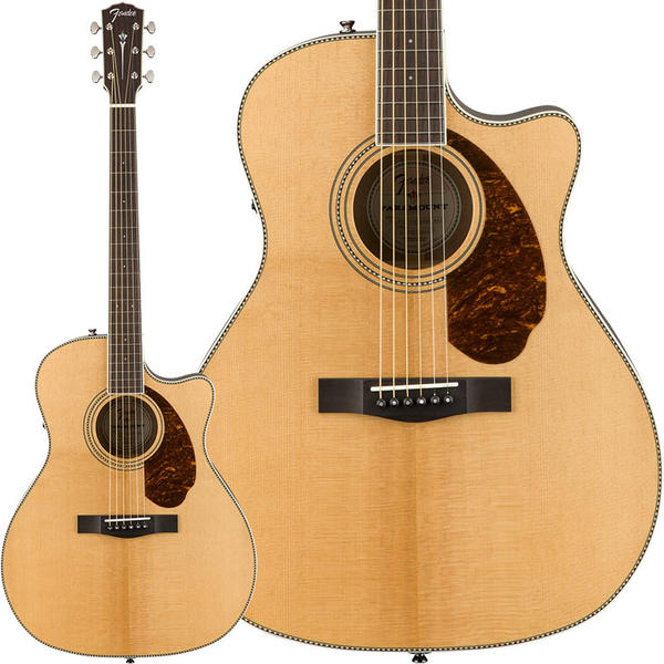 Fender Acoustics 《フェンダー・アコースティック》 PM-4CE Auditorium Limited (Natural)【a_p5】