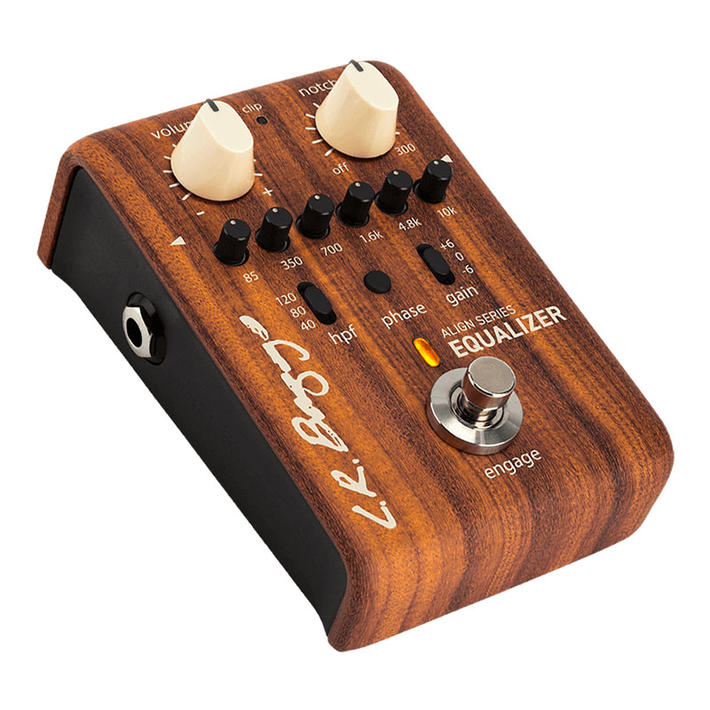 L.R.Baggs 《エルアールバッグス》 ALIGN Series EQUALIZER [6-Band EQ and Anti-feedback Notch Filter]【アコギ用プリアンプ】