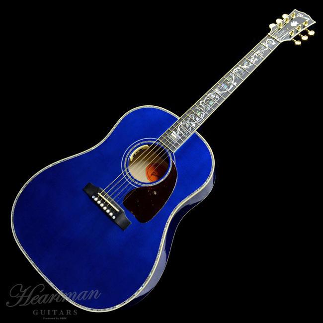 Gibson 《ギブソン》 LTD J-45 VINE Custom VIPER BLUE 【#12707028】【Gibson Acoustics Limited Model】【a_p5】