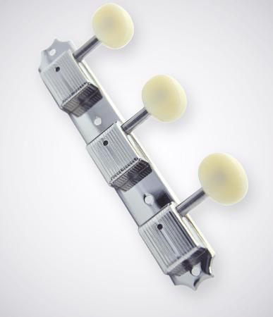 KLUSON 《クルーソン》3 Per Plate / Plastic Button / Nickel / No Letter 【セット販売】