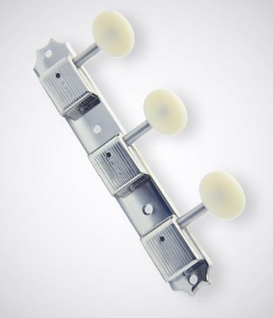 KLUSON 《クルーソン》3 Per Plate / Plastic Button / Nickel 【セット販売】