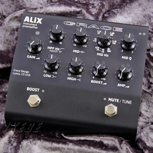 最も  GRACE design DI] 《グレース・デザイン》 (Black) ALiX (Black) design [Single Channel Instruments Preamp/EQ/ DI], ニシキョウク:534f7abe --- canoncity.azurewebsites.net