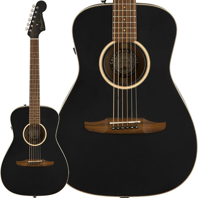 Fender Acoustics 《フェンダー・アコースティック》 Malibu Special (Matte Black)