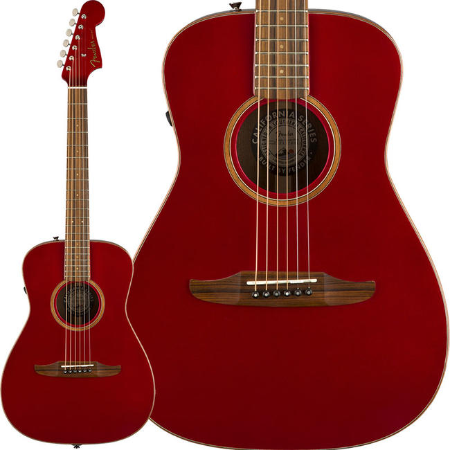 Fender Acoustics 《フェンダー・アコースティック》 Malibu Classic (Hot Rod Red Metallic)【特価】