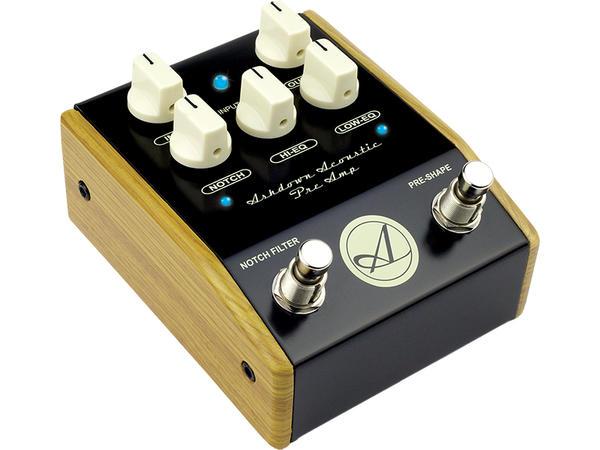 Ashdown 《アッシュダウン》 Acoustic Preamp Pedal 【アコースティック楽器用プリアンプ】