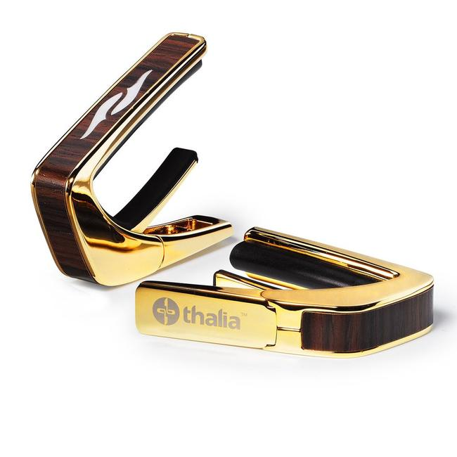 Thalia Capo 《タリア・カポ》24K Gold with Indian Rosewood & Element MOP Inlay [ウッドインレイタイプ]【送料サービス】