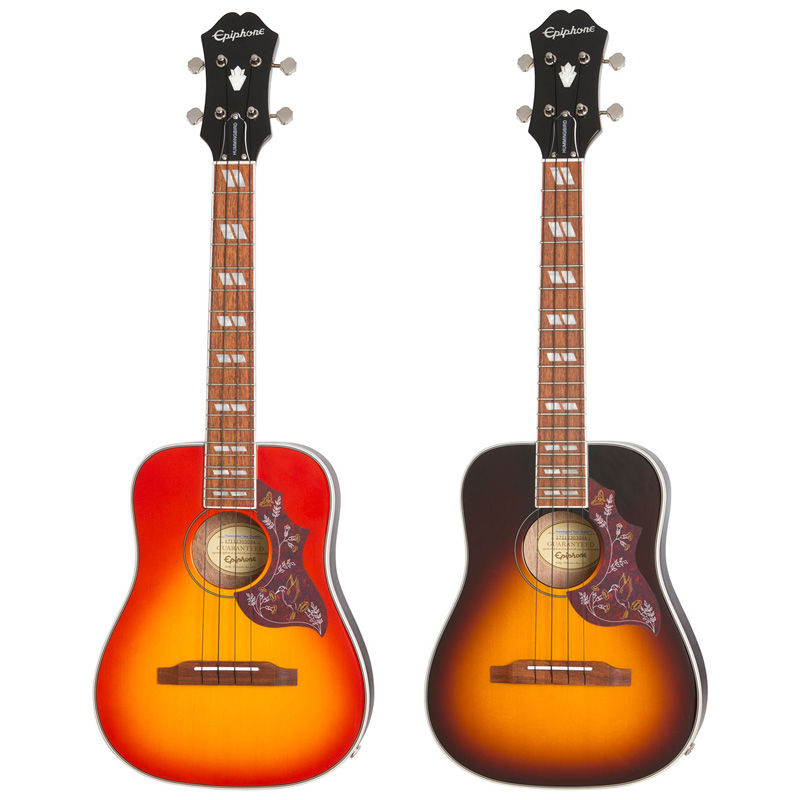 Epiphone 《エピフォン》Hummingbird Acoustic/Electric Tenor Ukulele