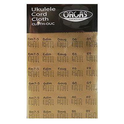 数量限定 オルカス 開催中 ウクレレコードクロス ORCAS CLOTH-OUC BRN ブラウン