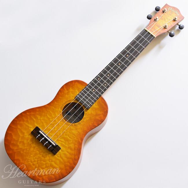 Pupukea 《ププケア》 IUF-C40-Quilt Maple/TB/01 [コンサートウクレレ]【ハートマンギターズ限定モデル】