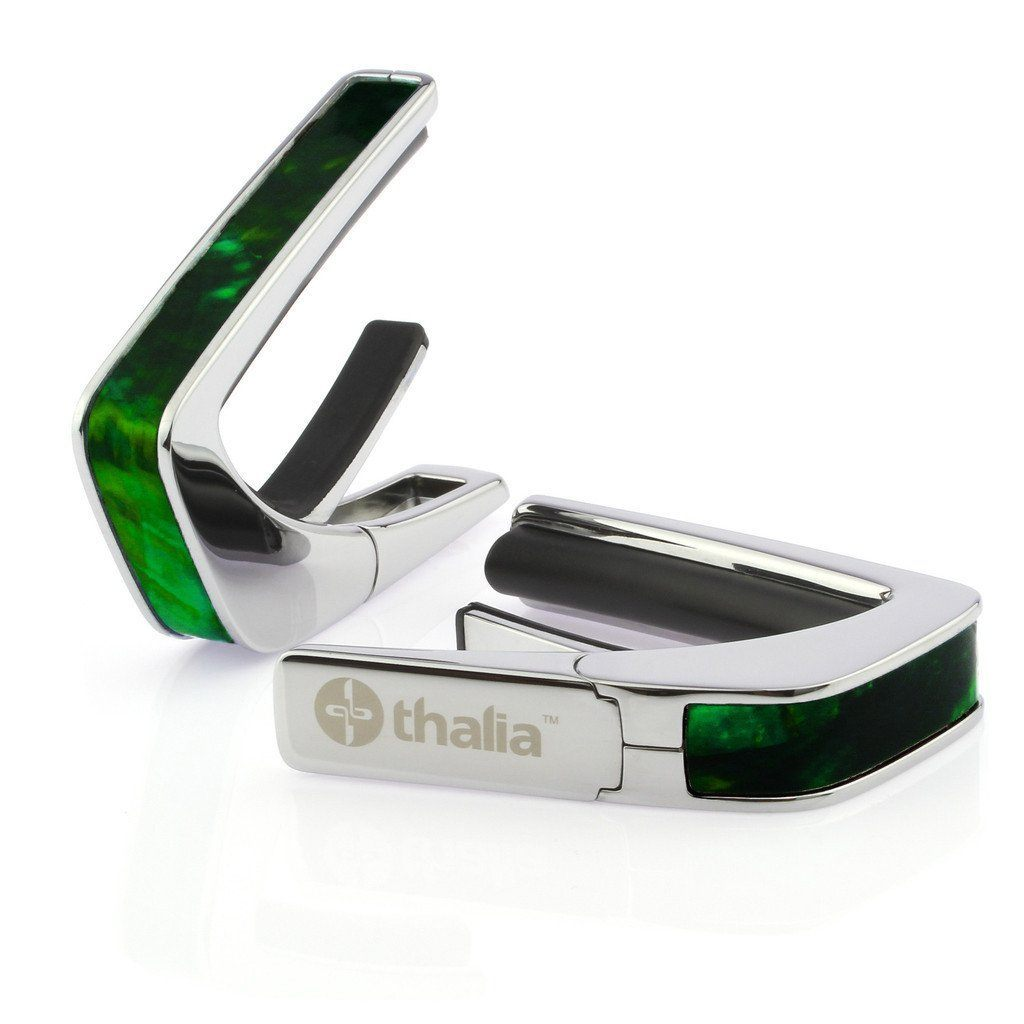 Thalia Capo 《タリア・カポ》Chrome with Green Angel Wing Inlay【送料サービス】