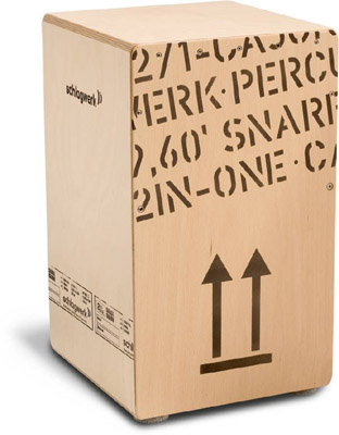 Schlagwerk Percussion 《シュラグヴェルク》CP-404 [2 in One Cajon / リュックサック・ソフトケース付]【お取り寄せ商品】