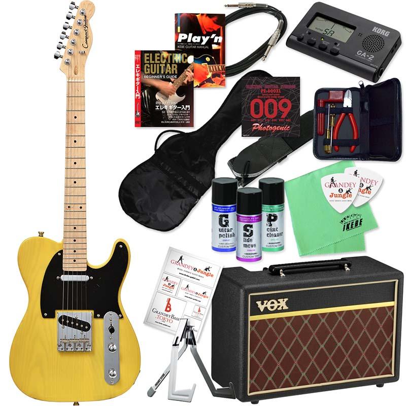 Compact Guitar 《コンパクトギター》 CTL-50s (BBD/M) 【本格的ミニギター&選べるVOXアンプ・豪華20点入門セット】