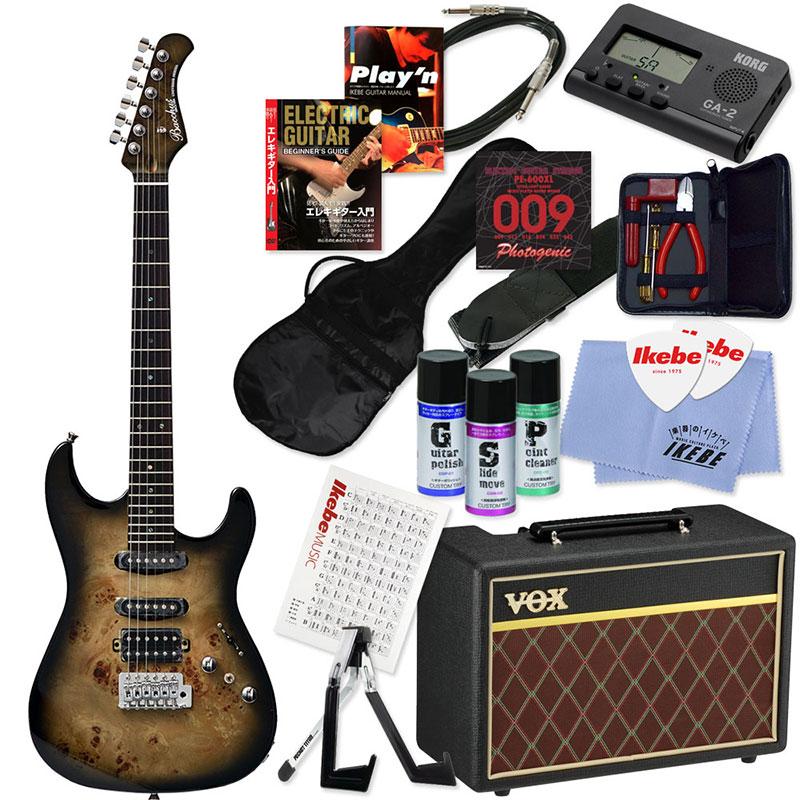 Bacchus 《バッカス》 UNIVERSE Series GS-Mini BP/R (BK-B) 【ミニギター&選べるVOXアンプ・豪華20点入門セット】【特価】