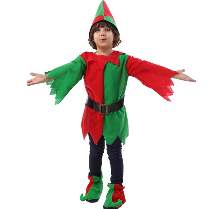 クリスマス衣装 コスプレ キッズ 子供服 コスチューム 仮装 演出服 男の子 ルームウェア パーティー 冬 イベント用