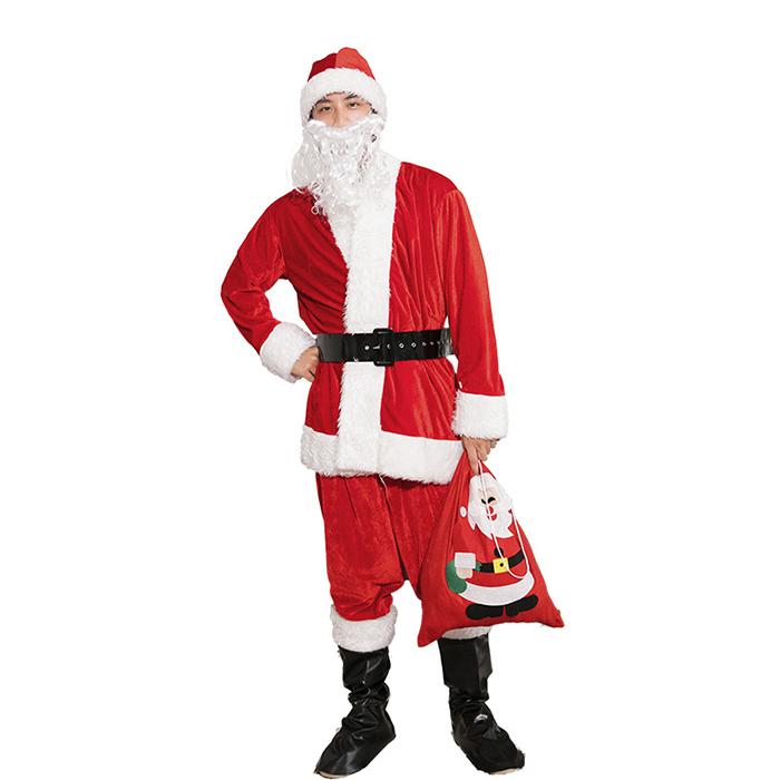 クリスマス衣装 サンタコスプレ コスチューム 仮装 レディース メンズ 大人用 演出服 ルームウェア パーティー 男女兼用 イベント 冬