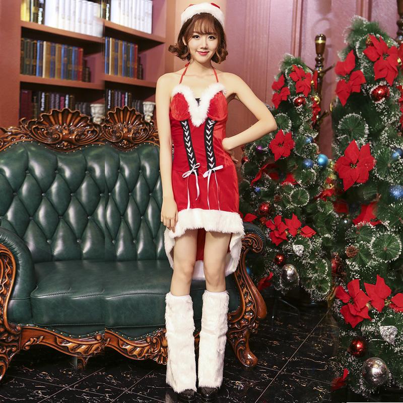 クリスマス衣装 レディース 仮装 サンタコスプレ コスチューム 演出服 ワンピース 大人用 パーティー cosplay イベント Charitmas