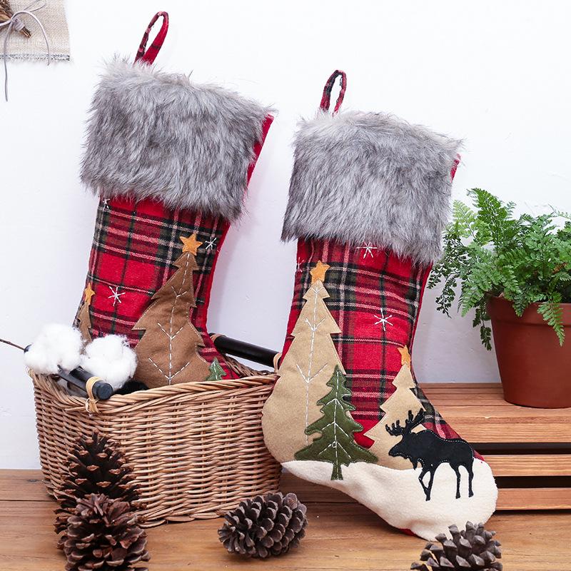 クリスマス飾り オーナメント クリスマス置物 贈物 手作り 北欧 Xmas クリスマス プレゼント イベント用 期間限定特別価格 クリスマス雑貨 窓 デコ かざり オーナメント靴下