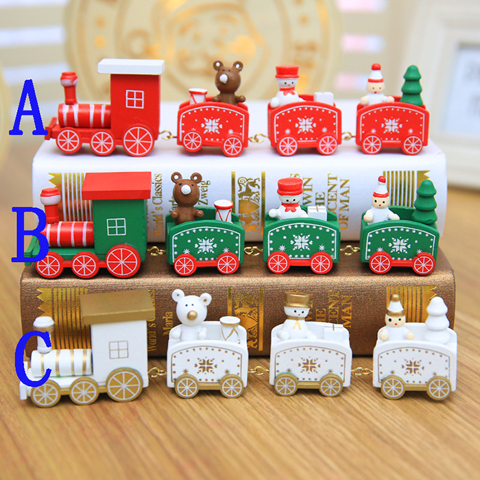 クリスマス飾り オーナメント クリスマス置物 手作り 北欧 Xmas クリスマス飾り 木製オーナメント クリスマス置物 クリスマス雑貨 汽車 クリスマスツリー クリスマスイブ デコ 窓 かざり プレゼント 北欧 イベント用 Xmas