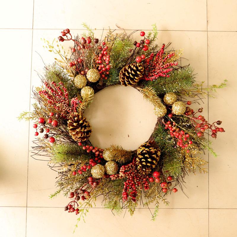 クリスマスリース クリスマス飾り オーナメント クリスマス置物 クリスマス雑貨 デコ 窓 かざり プレゼント イベント 北欧 Xmas