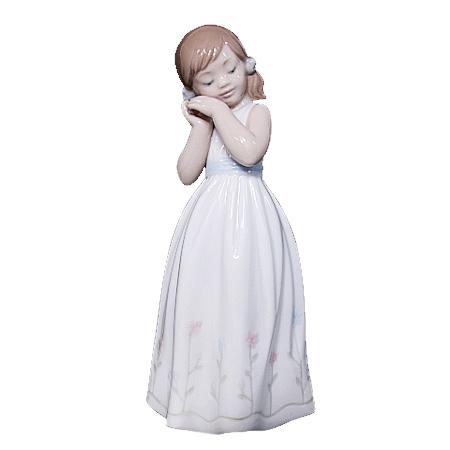 ◆ミウラ◆リヤドロ クラシック ポーセリン 我が家のプリンセス【中古】【smtb-TD】【saitama】