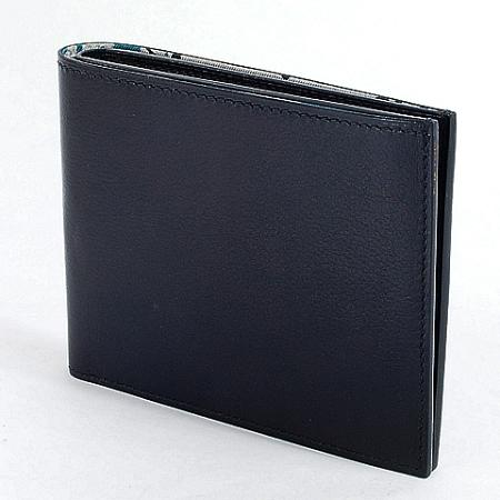 ◆ミウラ◆エルメス シチズンツイル シルクイン MC2 二つ折り財布 A刻印【中古】【smtb-TD】【saitama】