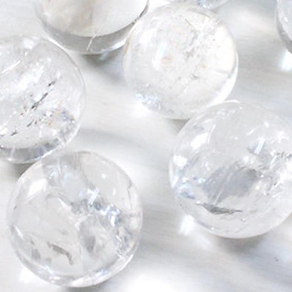 クラック 送料0円 人工水晶 約2.5cm 水晶 水晶丸玉 水晶玉 25mm 縁起の置物 クリスタル玉 溶練水晶玉 パワーストーン 天然石 最新号掲載アイテム 開運 風水