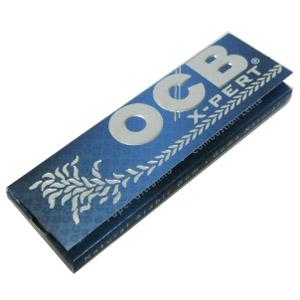 メール便なら送料250円 オーシービー エクスパートブルー X-PERT [宅送] BLUE 巻きたばこ用 ペーパー セットアップ メール便250円対応 シャグ OCB 50枚入り