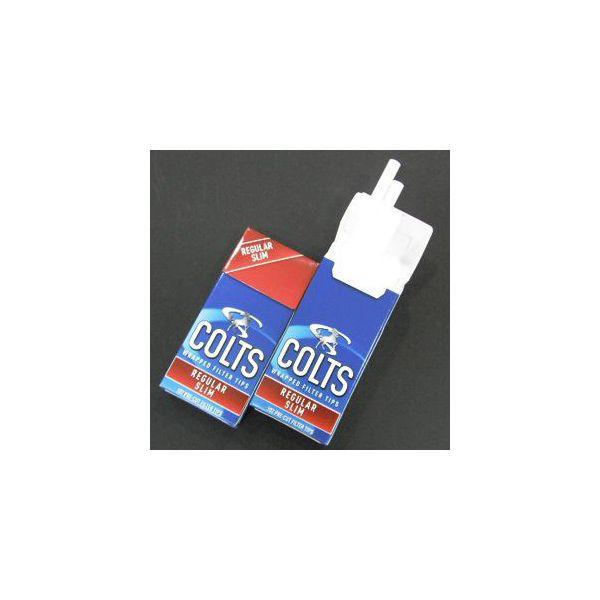 メール便なら送料250円 コルツ 巻きたばこ用フィルター レギュラー スリム メール便250円対応 新品未使用正規品 返品不可 シャグ 喫煙具 COLTS 約102個入り