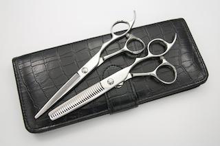 Japan scissors specialty manufacturers and beauty nurse DEEDS GT scissor it set for (5.5 6.0 inch) / haircut hairdresser hairdressing Barber scissors scissor it
