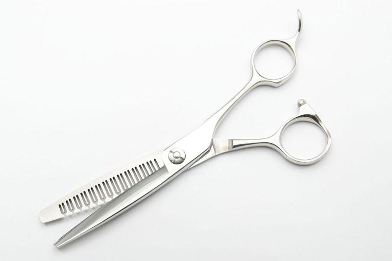 日本の鋏専門メーカー 理美容師専用 / 【PF】DEEDS ZT14TN セニング 14目溝無(6.0インチ・スキ率60%前後) / 美容師 理容 理容師 散髪 すきばさみ セニング シザー