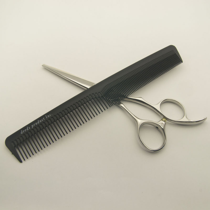 Cut comb M for the haircut cut comb comb pro specifications / DEEDS  original pro for beautician hairdressing barber haircut comb scissors  シザーセニングプロ