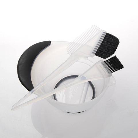 営業日15時まで当日出荷 プロ用ヘアカラーセット DEEDS E-0004 プロ用 へアカラーセット クリア 美容師 即納送料無料 美容小物 ヘアカラー 理容 ブラシ 散髪 安値 理容師 くし 毛染め