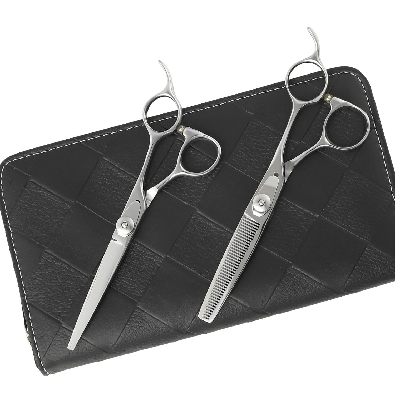 【メール便送料無料】日本の鋏専門メーカー 鍛造仕上 セニングのスキ率が選べる/DEEDS JP-02 シザー セニング セット 美容師 理容 理容師 散髪 はさみ シザー セニング