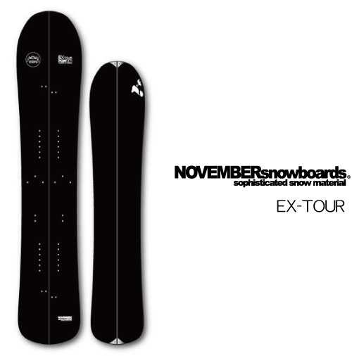 【 スノーボード 19-20 NOVEMBER】 EX TOUR】 ノベンバー スノーボード【 スプリットボード, ディーラックス:1589a98c --- sunward.msk.ru