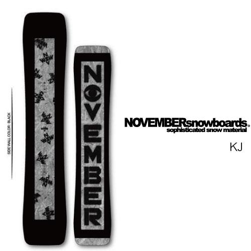 【 19-20 NOVEMBER KJ 152 】 ノベンバー スノーボード